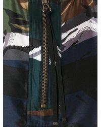 KENZO | Black Zip Detail Blouse | Lyst