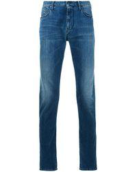 Armani Jeans | Blue Straight Leg Jeans for Men | Lyst
