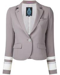 Guild Prime - Brown Banded Sleeve Jacket - Lyst