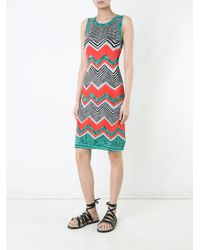 Missoni - Multicolor Zig Zag Dress - Lyst