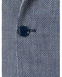Tagliatore | Blue Flap Pockets Blazer for Men | Lyst