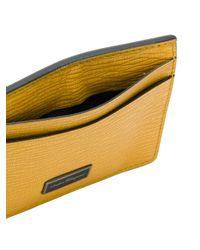 Ferragamo - Yellow Logo Cardholder - Lyst