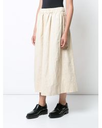Uma Wang - Natural Glenna Skirt - Lyst