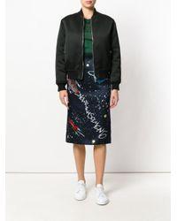 Dolce & Gabbana - Blue Solar System Print Skirt - Lyst
