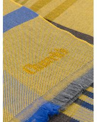Church's - Yellow Checked Scarf for Men - Lyst