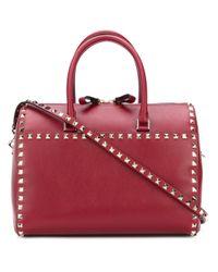 Valentino Red Garavani Rockstud Bowling Bag