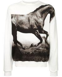 Yoshio Kubo | White Horse Print Sweatshirt for Men | Lyst