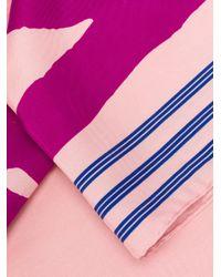 KENZO - Multicolor Logo Print Scarf - Lyst