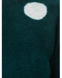 Suzusan - Green Polka Dot Jumper - Lyst