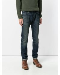 Burberry - Blue Slim Fit Jeans for Men - Lyst