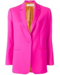 Golden Goose Deluxe Brand - Pink Tailored Fitted Blazer - Lyst
