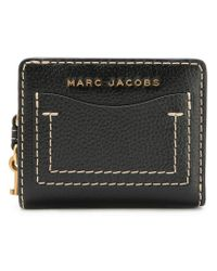 Marc Jacobs - Black The Grind Mini Compact Wallet - Lyst