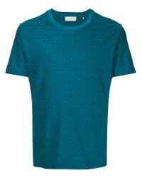 Cerruti 1881 - Green Geometric Jacquard T-shirt for Men - Lyst