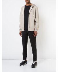 John Elliott - Natural Hooded Bomber Jacket for Men - Lyst