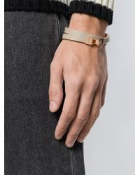 Northskull - Natural Double Wrap Bracelet - Lyst