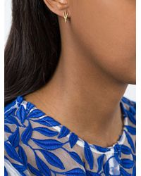 Wouters & Hendrix - Multicolor 18kt Yellow Gold 'crow's Claw' Earring - Lyst