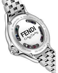 Fendi Metallic Crazy Carats Watch