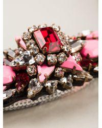 Shourouk - Pink 'mamba' Necklace - Lyst