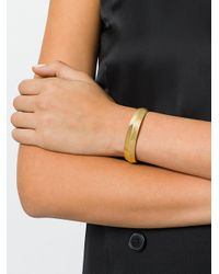 Aurelie Bidermann - Metallic Peggy Simple Bracelet - Lyst