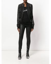 Ann Demeulemeester - Black Long Printed Vest - Lyst