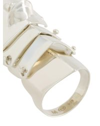 Vivienne Westwood - Metallic Short Knuckle Ring - Lyst