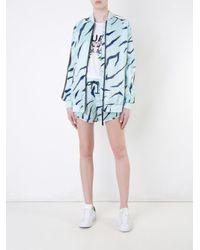 The Upside - Green Shere Khan Print Shorts - Lyst