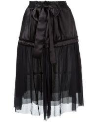 Ann Demeulemeester - Black June Skirt - Lyst