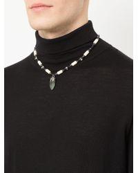 Alexander McQueen - Multicolor Mixed Stone Necklace - Lyst