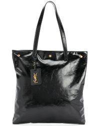 Saint Laurent - Black Noe Shopper Tote - Lyst