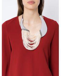 Camila Klein - Multicolor Conceito Pearl Necklace - Lyst