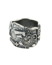 Tobias Wistisen - Metallic Breiter Ring aus Silber for Men - Lyst