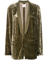 Forte Forte - Green Loose Fit Tuxedo Jacket - Lyst
