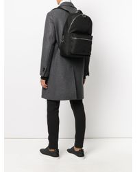 Dolce & Gabbana - Black Canvas Vulcano Backpack for Men - Lyst