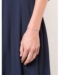 Sara Weinstock - Metallic 18kt White Gold Reverie Bolo Cushion Pear Diamond Bracelet - Lyst