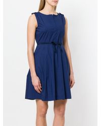 Woolrich - Blue Chest Pocket Dress - Lyst