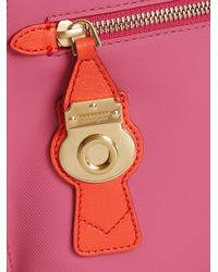 Burberry - Pink Wristlet Pouch - Lyst