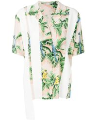 Stella McCartney - Green Reid Paradise Printed Shirt - Lyst