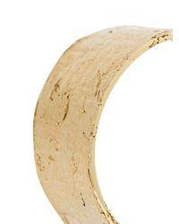 Allison Bryan - Metallic Cigar Paper Ring - Lyst