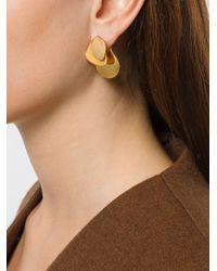 Charlotte Chesnais - Yellow Drop Earrings - Lyst
