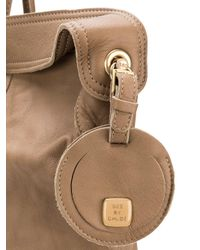 See By Chloé - Natural Multi-handle Tote Bag - Lyst