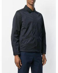 Bellerose Blue Buttoned Jacket for men