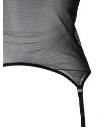 Maison Close - Black Pure Tentation Suspender Top - Lyst