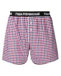 Gosha Rubchinskiy - Men's Red Cotton Boxer for Men - Lyst