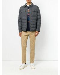 Polo Ralph Lauren - Gray Padded Jacket for Men - Lyst