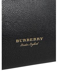 Burberry - Black Medium Banner Tote Bag - Lyst