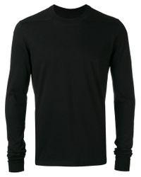Rick Owens Drkshdw - Black Plain Sweater for Men - Lyst
