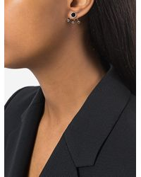 Pamela Love - Metallic Three Gravitation Onyx And Black Spinel Earrings - Lyst