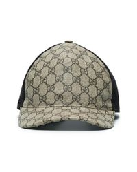 Gucci GG Supreme Baseball Hat in Brown for Men - Lyst a48cdc674208