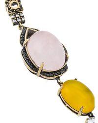 Iosselliani - Metallic Burma Necklace - Lyst