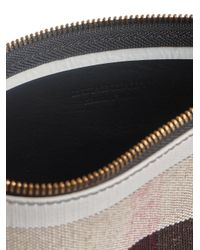 Burberry - Multicolor Medium Check Zip Pouch - Lyst